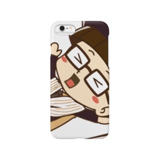 カーテンマンJr.(ズコー)のスマートフォンケース Smartphone cases