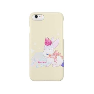 フルーツうさぎ Smartphone cases