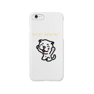 たまエンジョイディベート・i-Phoneケース Smartphone cases