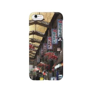 大阪西成新開筋商店街 Smartphone cases