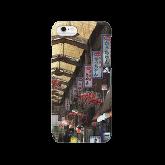 DEEP案内編集部の大阪西成新開筋商店街 Smartphone cases