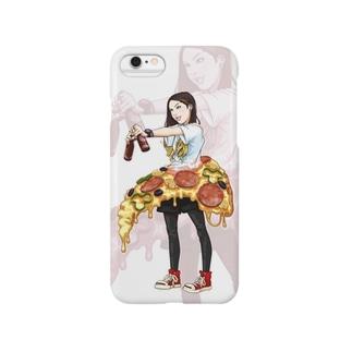 pizzagirl Smartphone cases