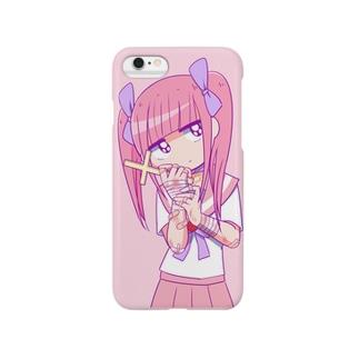メンヘラチャン Smartphone cases