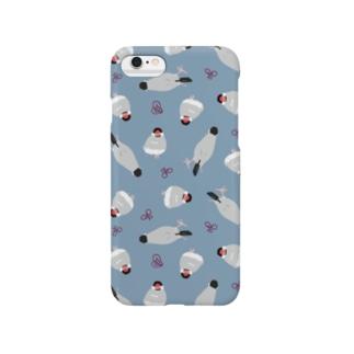 わらわら桜文鳥 Smartphone cases