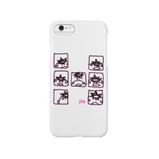 コマワリぱすけくん(桜) Smartphone cases