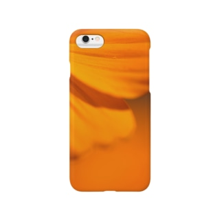 オレンジ Smartphone cases