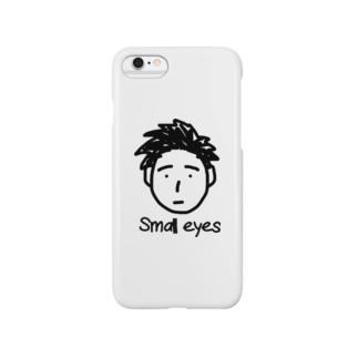 つぶらな瞳の男の子 Smartphone cases