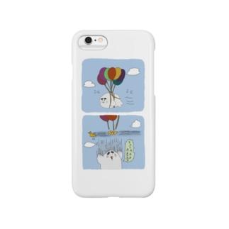 きゅな風船 Smartphone cases