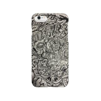 画家ゴトウヒデオのスマホケース Smartphone cases