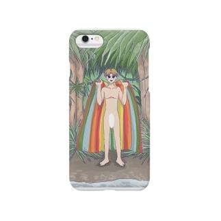 森の少年 Smartphone cases