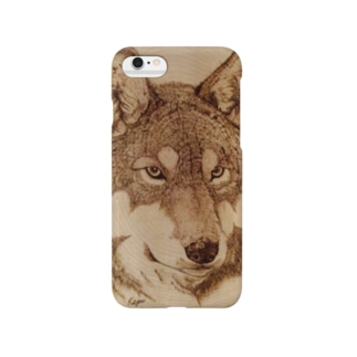 Wolf Face Smartphone cases