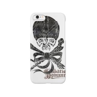 Skull(Black) スマートフォンケース