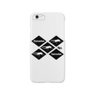 【tropics RA】完全オリジナル!ヘラクレスオオカブトグッズ! Smartphone cases