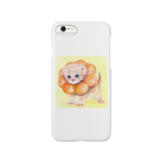 萌獣 猫 ポンデニャイオン Smartphone cases