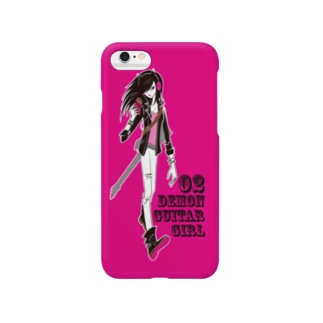 Demon Guitar Girl Smartphone cases