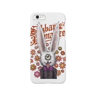 単眼兎 Smartphone cases