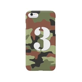 迷彩さん Smartphone cases