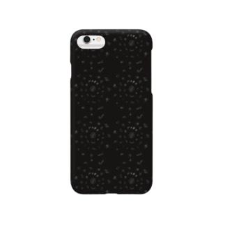 図形曼荼羅風 Smartphone cases