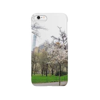 ニューヨーク、セントラルパーク春 Smartphone cases