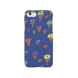 アイスたち Smartphone cases
