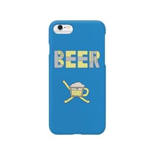 BEER スマートフォンケース
