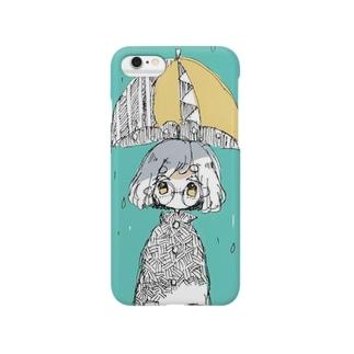雨っ子スマホカバー Smartphone cases