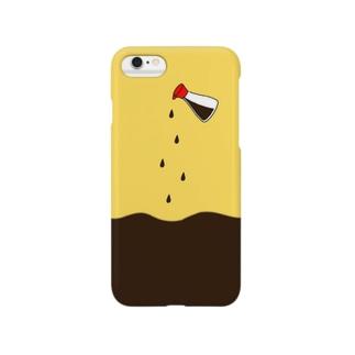 お醤油 Smartphone cases