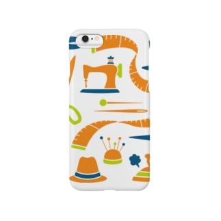 ソーイング・帽子屋 Smartphone cases