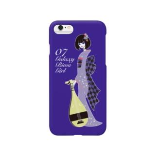 Galaxy Biwa Girl スマートフォンケース