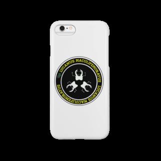 Tropics RAの「変わらぬ魅力、新たな魅力、ミヤマクワガタ」【tropics RA】 Smartphone cases
