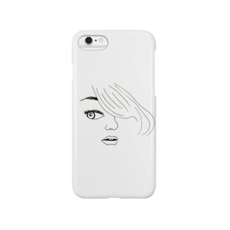 sidelong glance♡ Smartphone cases