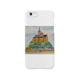 Mont Saint-Michel Smartphone cases