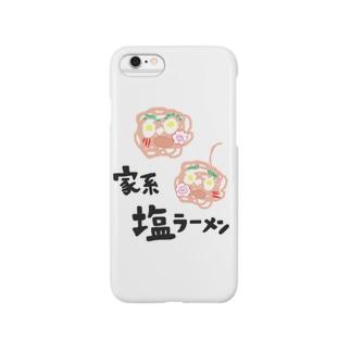 家系塩ラーメン Smartphone cases