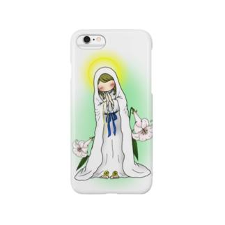 「みな☆の」のルルドのマリア様 Smartphone cases