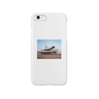 スペースシャトル&ボーイング747改 Smartphone cases