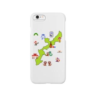 沖縄本島マップ Smartphone cases