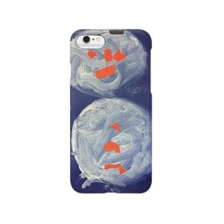 雪だるまのスマホケース Smartphone cases