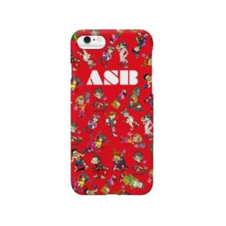 ASBスタッフキャラクターアイテム(赤) Smartphone cases