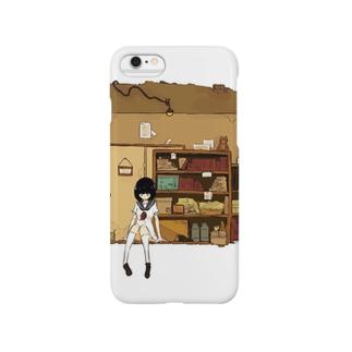 茶色い部屋 スマートフォンケース