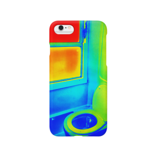 Metal_Mania_Sayukiのポーランドの列車トイレ(サイケデリックver.) Smartphone cases