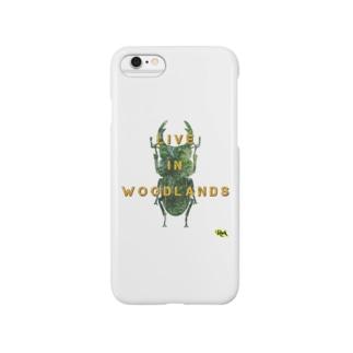 「オオクワガタは、王クワガタだ」 【tropics RA】 Smartphone cases