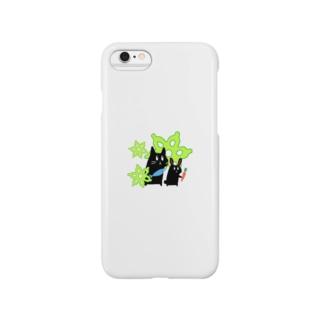 むしゅ1 Smartphone cases