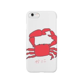かにさん Smartphone cases