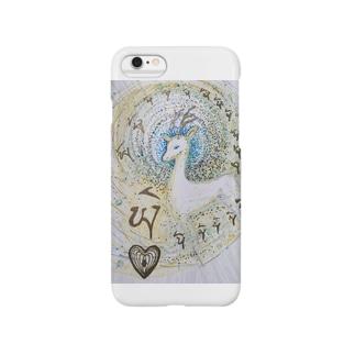 パワーアニマル 鹿 Smartphone cases