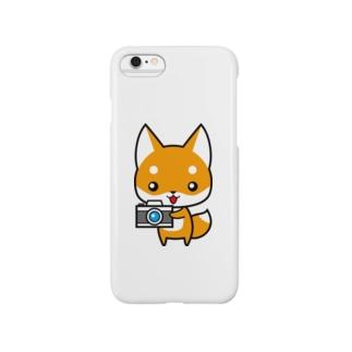 コンちゃん Smartphone cases