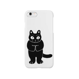 黒ねこのクロ Smartphone cases