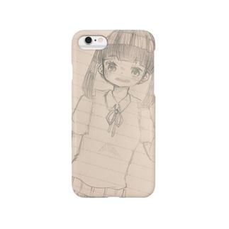 夏服女の子 Smartphone cases