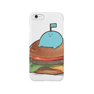 うわわさんバーガー(吹き出しなし) Smartphone cases