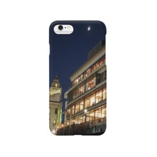 かもがわナイト(Half Moon) Smartphone cases