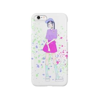 rainbow girl Smartphone cases